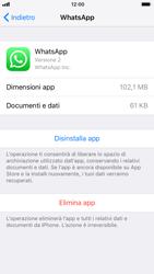 Apple iPhone 7 iOS 11 - Applicazioni - Come disinstallare un