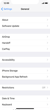 Apple iPhone X - Applications - How to uninstall an app - Step 4