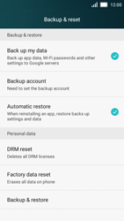 Huawei Y5 - Mobile phone - Resetting to factory settings - Step 4