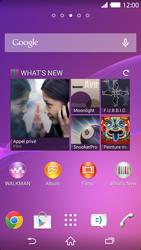 Sony Xperia Z2 - Photos, vidéos, musique - Créer une vidéo - Étape 1
