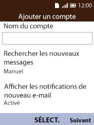 Alcatel 3088X - E-mails - Ajouter ou modifier votre compte Outlook - Étape 10