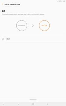 Samsung galaxy-tab-a-10-5-sm-t595 - Contacten en data - Contacten kopiëren van SIM naar toestel - Stap 12