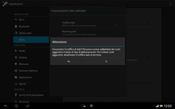 Sony Xperia Tablet Z LTE - Internet e roaming dati - Configurazione manuale - Fase 7