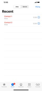 Apple iphone-11-model-a2221 - Beveiliging en ouderlijk toezicht - Nummer blokkeren - Stap 4