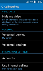 Samsung G357 Galaxy Ace 4 - Voicemail - Manual configuration - Step 5
