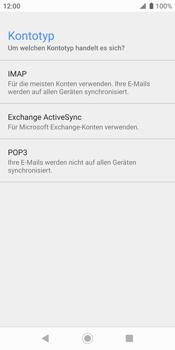 Sony Xperia XZ2 - Android Pie - E-Mail - Konto einrichten - Schritt 10