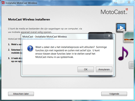 Motorola Nexus 6 - Software - Download en installeer PC synchronisatie software - Stap 6