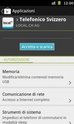 Samsung Galaxy S Advance - Applicazioni - Installazione delle applicazioni - Fase 8