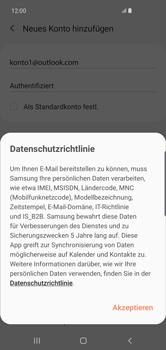 Samsung Galaxy S10 Plus - E-Mail - 032c. Email wizard - Outlook - Schritt 13