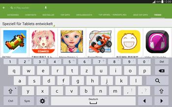 Samsung T535 Galaxy Tab 4 10.1 - Apps - Installieren von Apps - Schritt 14