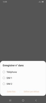 Samsung Galaxy A31 - Contact, Appels, SMS/MMS - Ajouter un contact - Étape 5