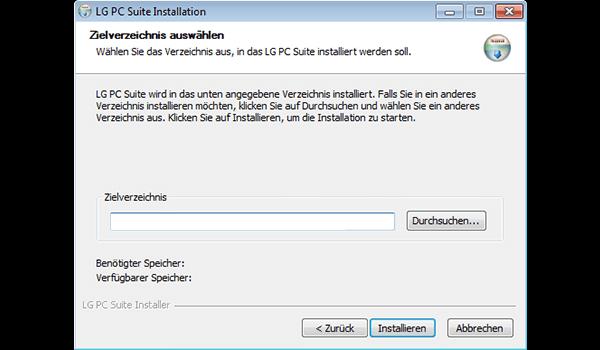 LG D955 G Flex - Software - Installieren von Software zur PC-Synchronisierung - Schritt 8