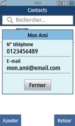 Samsung Wave 723 - Contact, Appels, SMS/MMS - Envoyer un SMS - Étape 8
