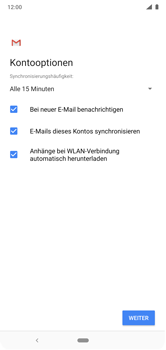 Nokia 6.1 Plus - E-Mail - Konto einrichten (outlook) - 10 / 17