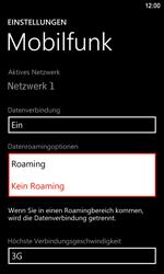 Nokia Lumia 920 LTE - Ausland - Im Ausland surfen – Datenroaming - Schritt 8
