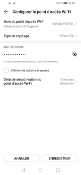Huawei P30 Lite - Internet - comment configurer un point d'accès mobile - Étape 7