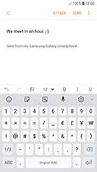 Samsung A320F Galaxy A3 (2017) - Android Oreo - E-mail - Sending emails - Step 11