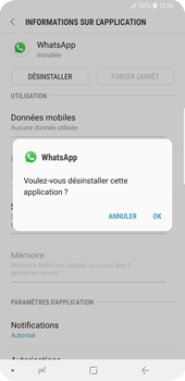 Samsung Galaxy S9 Plus - Applications - Comment désinstaller une application - Étape 7
