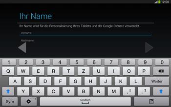 Samsung Galaxy Tab 3 10-1 LTE - Apps - Konto anlegen und einrichten - 5 / 25