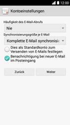 Huawei Ascend Y530 - E-Mail - Konto einrichten - 0 / 0