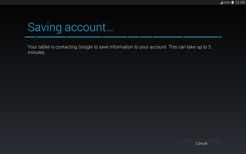 Samsung T805 Galaxy Tab S - Applications - Setting up the application store - Step 19