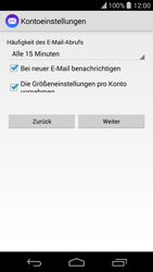 Wiko Highway Pure - E-Mail - Manuelle Konfiguration - Schritt 13