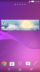 Sony Xperia Z2 - Operazioni iniziali - Installazione di widget e applicazioni nella schermata iniziale - Fase 8