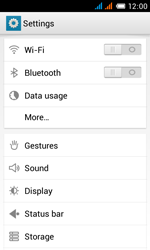 Alcatel One Touch Pop C3 - Bluetooth - Connecting devices - Step 4