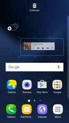 Samsung Galaxy S7 Edge - Startanleitung - Installieren von Widgets und Apps auf der Startseite - Schritt 6
