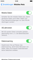 Apple iPhone 5c - Ausland - Auslandskosten vermeiden - Schritt 6
