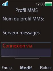 Sony W595 - MMS - Configuration manuelle - Étape 20