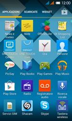 Alcatel One Touch Pop C3 - Applicazioni - configurazione del negozio applicazioni - Fase 3