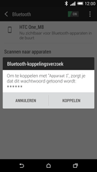 HTC One M8 - bluetooth - headset, carkit verbinding - stap 7
