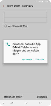 Samsung Galaxy S9 Plus - E-Mail - Konto einrichten (outlook) - 9 / 12