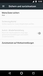 Motorola Moto G5s - Fehlerbehebung - Handy zurücksetzen - Schritt 7