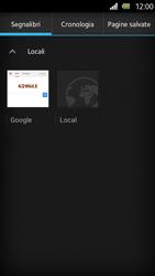 Sony Xperia U - Internet e roaming dati - Uso di Internet - Fase 10