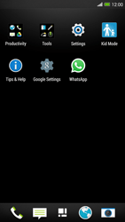 HTC One Max - Applications - How to uninstall an app - Step 3