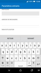 HTC One A9 - E-mail - Configurer l
