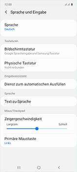 Samsung Galaxy A51 - Startanleitung - So fügen Sie eine Tastatursprache hinzu - Schritt 6