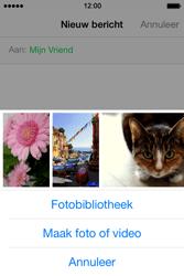 Apple iPhone 4S iOS 8 - MMS - hoe te versturen - Stap 8