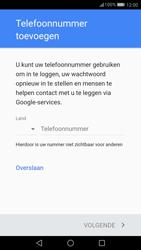 Huawei P10 - Applicaties - Account instellen - Stap 13