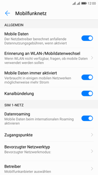 Huawei Mate 9 Pro - Ausland - Im Ausland surfen – Datenroaming - 9 / 11
