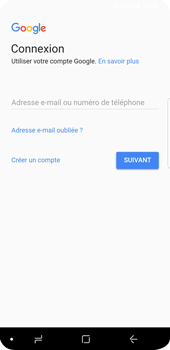 Samsung Galaxy S9 - E-mail - 032a. Email wizard - Gmail - Étape 9