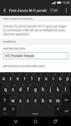 HTC Desire 610 - Internet et connexion - Partager votre connexion en Wi-Fi - Étape 8