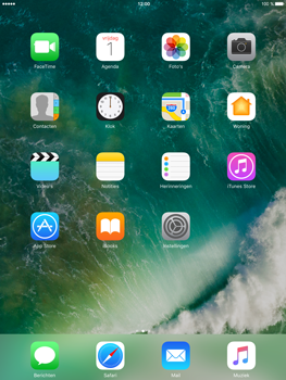 Apple iPad Air 2 iOS 10 - iOS features - Verwijder en herstel standaard iOS-apps - Stap 1