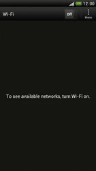 HTC One S - WiFi - WiFi configuration - Step 6