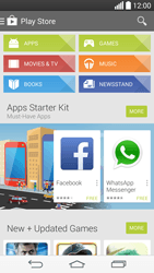 LG G3 - Applications - Setting up the application store - Step 21