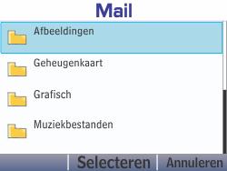 Nokia Asha 210 - E-mail - E-mails verzenden - Stap 15