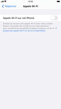 Apple iPhone 8 Plus - iOS 13 - WiFi - Activez WiFi Calling - Étape 6