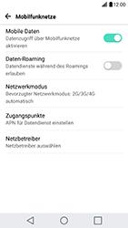 LG G5 SE - Netzwerk - Netzwerkeinstellungen ändern - 5 / 7